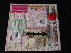 Busy Seamstress - Fidget Quilt- Tactile - Bright & Colorful- Fun for Alzhiemer Patients