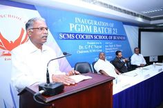 #PGDM Class of 2016 started its SCMS journey from August 5, 2014.  The 23rd batch of SCMS Cochin School of Business was inaugurated by Mr.Sajiv Menon, MD of Nitta Gelatin India Limited. #SCMSCochin #scmsGroupOfInstitutions #SCMSCochinSchoolOfBusiness #MBA