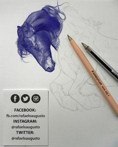 Slower progress than I'd like, but oh well... [S04X06:34] #Drawing #Ink #Portrait #rafaelxaugusto
