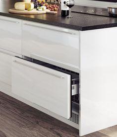 Sigdal kjøkken - Norcool kjøleskuff hvit