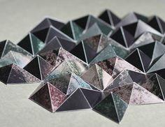 3D paper worlds by Matthew Shlian