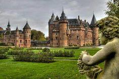 De Haar Castle in Utrecht, The Netherlands