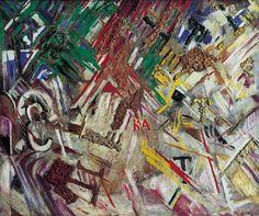 Michel Larionov, Journée ensoleillée, 1913-1914