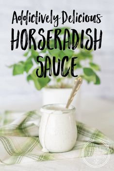 Addictively Delicious Horseradish Sauce - Keto, Low-Carb & Paleo