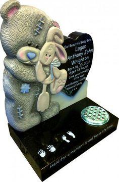 Memorial Markers, Memorial Stones, Baby Memories, Funeral Flowers, Baby Sleep, Lunch Box, Costume, Cherubs, Bento Box
