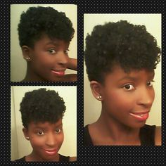 Tapered natural hair cut. I am loving my new haircut!!!