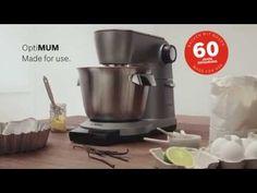 Bosch. Produktvideo OptiMUM Küchenmaschine