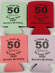 Birthday - Free Printed Sample visit to claim sample save to share with friends 50th Birthday Party, Birthday Favors, Cooler Designs, Birthdays, Baby Shower, Printed, Friends, Party Ideas, Free