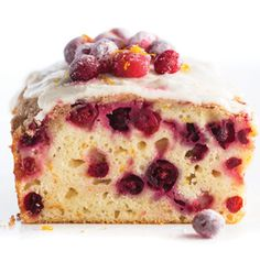 Orange-glazed Cranberry Streusel Bread - HyVee (I wonder if you could make this into muffins?)