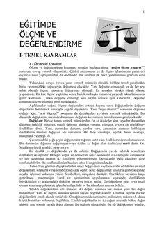 lme-ve-deerlendirme-ders-notlari by derslopedi via Slideshare
