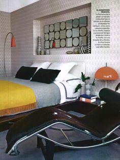 NUEVO ESTILO - LC4, design Le Corbusier, Jeanneret, Perriand