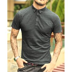 Camisa Polo Richard Camisa Polo, Polo Shirt, T Shirt, Men's Fashion, Mens Tops, New Dress, Piece Of Clothing, Stylish Clothes, Jacket