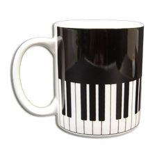 my two favorite things: piano and coffee! Piano Art, Le Piano, Piano Music, Piano Keys, Music Music, Coffee Cups, Tea Cups, Drink Coffee, Piano Lessons For Beginners
