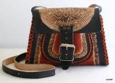 Leather Shoulder/Sling Bag : izachel - ArtFire Bags & Purses