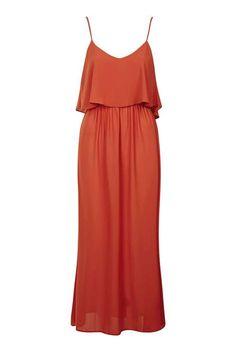 **Frill Maxi Cami Dress OML