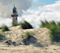 Light house on the dunes