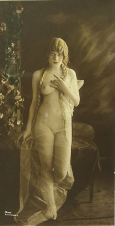Female nude by Charles Gilhousen, 1919