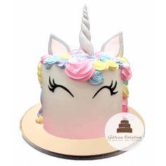 Gâteau d'anniversaire pretty licorne