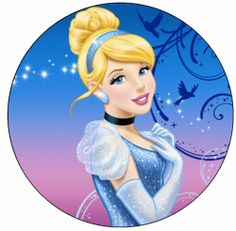 Disney Princess Cinderella Edible Cupcake Cookie Cake Image Decoration Birthday | eBay