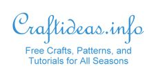 Free Craft Ideas, Tutorials and Templates  this link goes to paper crafts - the site is huge and has TONS of ideas!!!