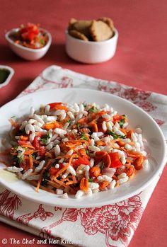THE CHEF and HER KITCHEN: Nippat Masala..Karnataka Chaat variety