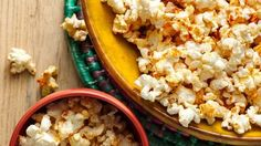 Make this festive popcorn in minutes for a fun party!