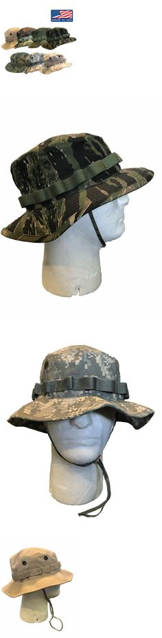 7d82f4da49c416 US Army · Hats 52365: Original Military Issue Boonie Bush Hat 50 50 Nylon  Cotton Made In Usa