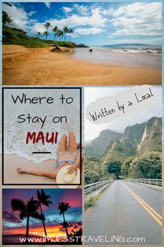 Deciding which part of the island of Maui to stay on and then where to stay is an important factor when planning your Hawaiian vacation. Read the pros and cons of each area to help you in making a decision based on personal preferences. Canada Travel, Travel Usa, Travel Info, Travel Guides, Travel Tips, Maui Vacation, Hawaii Travel, West Maui, Boat Tours