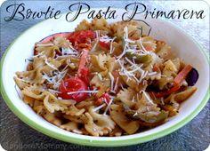 Bowtie Pasta Primavera Looks yummy