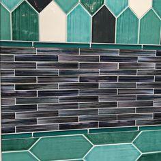 Walking through @lunadabaytile's exhibit at @coveringsshow with creative director Feras Irikat and I can't stop staring at one of several of their new #tile collections - Watercolors! // #backsplash #bathroom #designhounds #designinspo #designer #designinspiration #designdeinteriores #homedesign #homeinspo #instadesign #kitchendesign #mosaics #tileometry #tiles #tiled #tilework #tilelove #tiledesign #tilestyle #tileaddiction ##Coverings2017 #walltiles