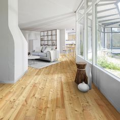 Kahrs Artisan Larch Dunes Engineered Wood Flooring - flooring throughout. LIght