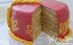Творожно-цитрусовый торт   Кулинарные рецепты от «Едим дома!»