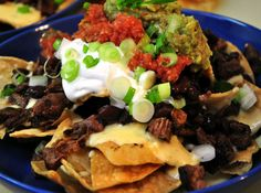 Grilled Steak Nachos Recipe - RecipeChart.com