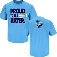 San Diego Chargers Fans. Proud To Be A Raiders Hater. T-Shirt