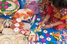Making Handmade Jute Dolls in India jigsaw puzzle