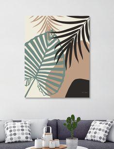 Diy Canvas Art, Canvas Art Prints, Diy Wall Art, Decoration, Art Decor, Home Decor Paintings, Tropical Decor, Tropical Interior, Wall Art Designs