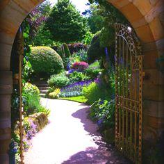 Hidden garden at Hever castle