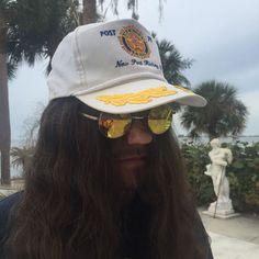 Vintage AMERICAN LEGION Post 79 New Port Ritchey, Florida Snapback Mesh Captians Hat American Legion Post, American Legions, Snapback Hats, Pretty Cool, A Boutique, Captain Hat, Vintage Items, Archive, Florida