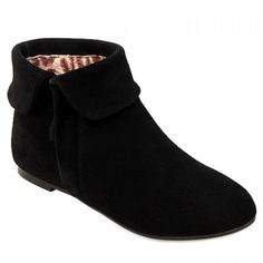 Retro Suede and Zipper Design Short Boots For Women #CLICK! #clothing, #shoes, #jewelry, #women, #men