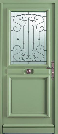 Une porte très ancienne, la peinture très ancienne aussi - Peinture Porte Et Fenetre