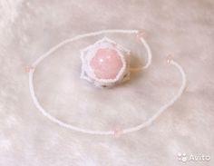 Маятники биолокационные, шар. Розовый кварц, Ручная работа. 25 гр. 700 руб.