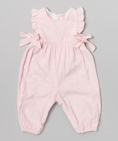 Pink Ruffle Berkley Overalls - Infant & Toddler | Daily deals for moms, babies and kids