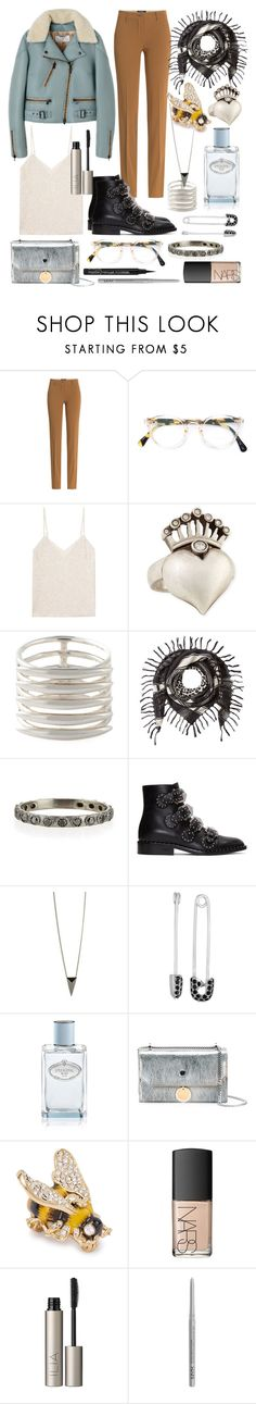 """everyone has secrets"" by nothingisnormal ❤ liked on Polyvore featuring Etro, Oliver Peoples, Lanvin, Irit Design, Shaun Leane, Barbara Bui, Armenta, Givenchy, Alexis Bittar and Rachel Rachel Roy"