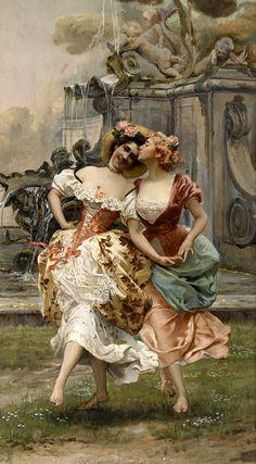 #Art - La danza. Gioacchino Pagliei (Italian, 1852-1896).