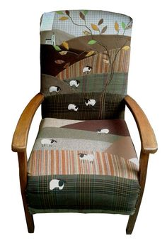 Great way to reuse old chairs