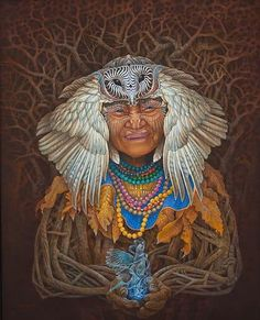 Got of Small Affairs Arte Indie, Up To The Sky, Psy Art, Rare Gems, Circle Of Life, Visionary Art, Fantasy Art, Native American, Original Paintings