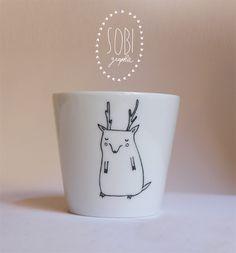 DIY :: Dessine selon tes envies sur ton mug avec un marqueur qui tient à l'eau .( Sa se voit , je suis fan de mugs x) ) -Avis : Dessinez a volonté (hihi , sa rime :) )