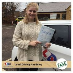 Congratulations and well done to Miranda Collins for passing her driving test today! Leave sooner, drive slower, live longer. :)   #LocalDrivingSchool #DrivinginOxford #DrivingLicense #DrivingTest #LDA #Oxford #UK