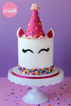 How to make a party unicorn cake - Love Cake Create