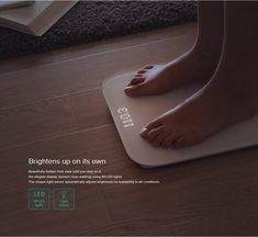 Mi Smart Weighing Scale | Xiaomi Dubai Smart Scale, Fitness Gadgets, Weight Scale, Ios 7, Unique Lighting, Light Sensor, Iphone 4s, Fun Workouts, Dubai